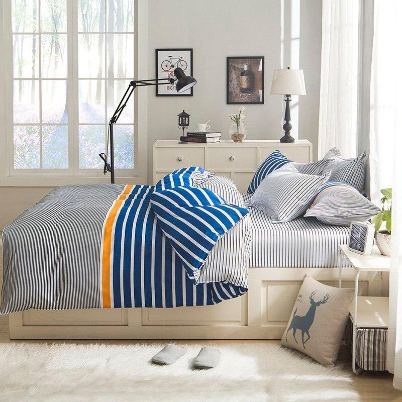 床包【RS雜貨舗】雙人標準5呎床包被套枕套沙發套沙發罩保潔墊床墊四件組[Sports]