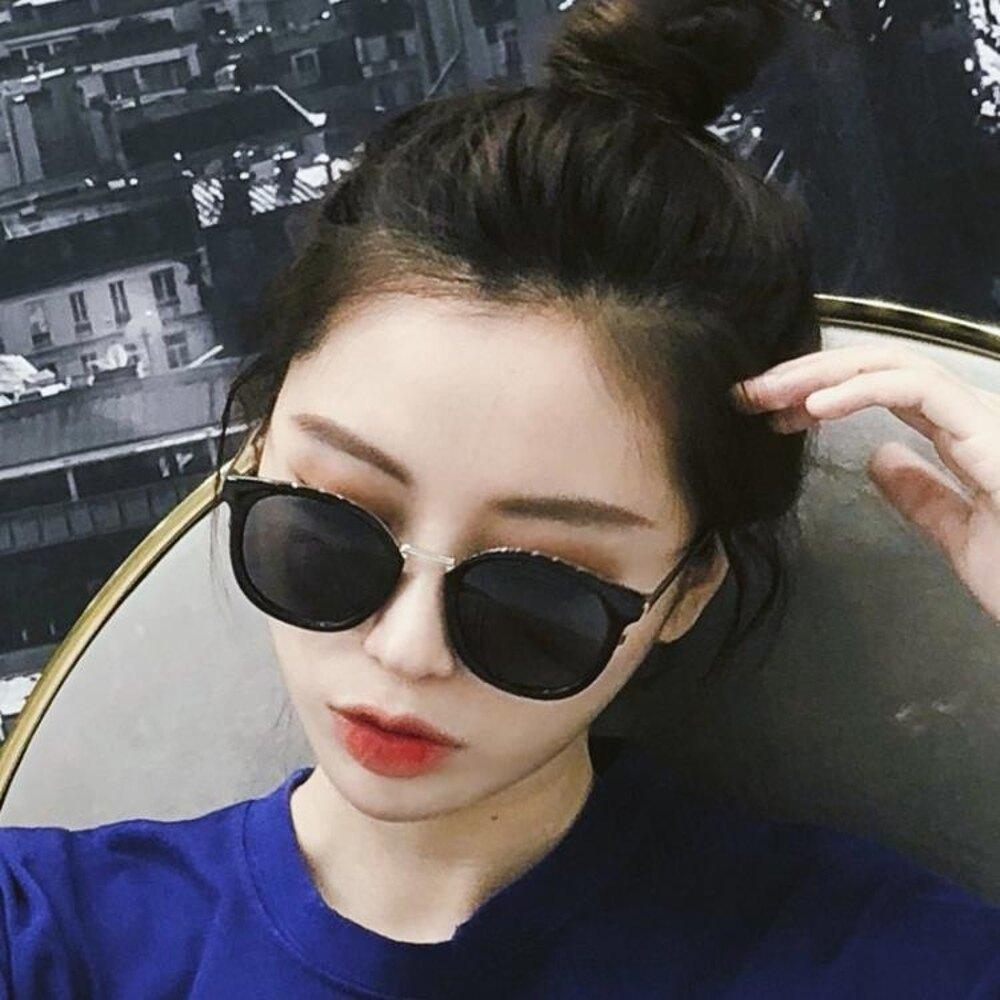墨鏡 青陌太陽鏡 女韓版長方形墨鏡防紫外線太陽眼鏡2019新款ins網紅風 曼慕衣櫃