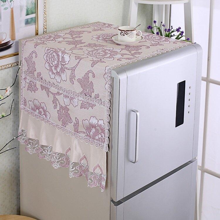 防塵罩 蓋布冰箱巾雙開門冰箱防塵罩蓋巾單開對開門冰箱巾冰箱布冰箱蓋巾 領券下定更優惠