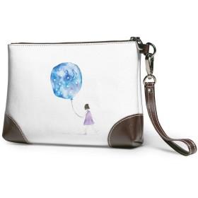 クラッチバッグ ビジネスバッグ バッグ 防水バッグ 風船 女の子 セカンドバック メンズ レディース 鞄 人気 クラッチ 本革