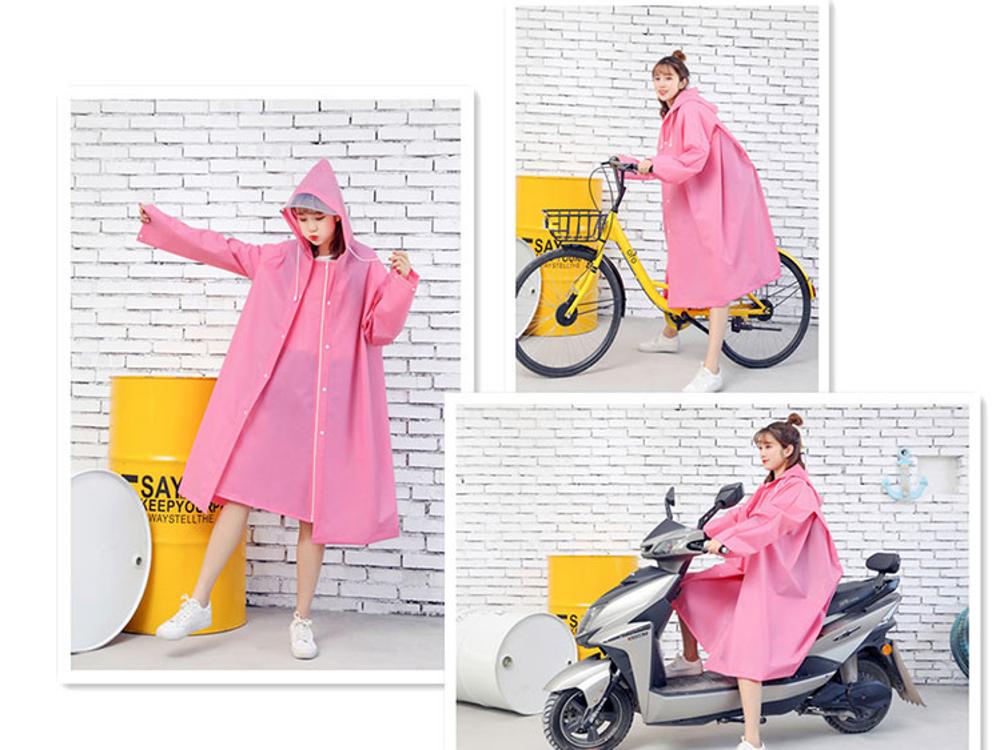 領券下定更優惠 雨衣 自行車雨衣男女騎行單人便攜雨披防水大背書包電動摩托車三合一【韓國時尚週】