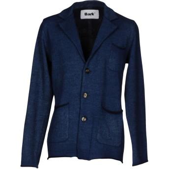 《セール開催中》BARK メンズ テーラードジャケット ブルー M コットン 50% / ウール 40% / ナイロン 10%