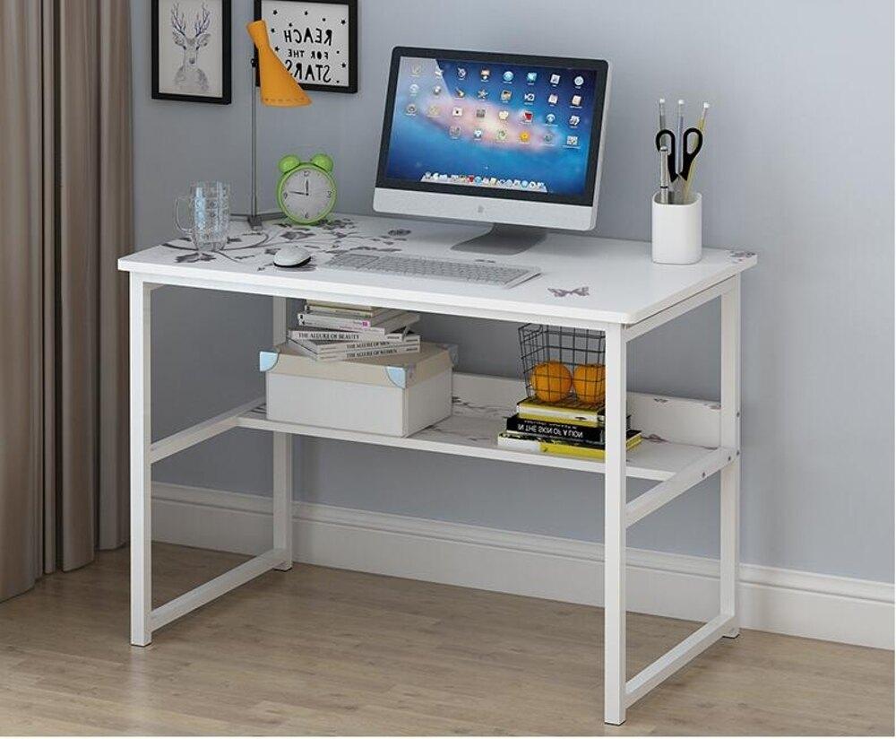 電腦台式桌家用經濟型省空間臥室多功能現代簡約辦公簡易學生書桌JD   寶貝計畫