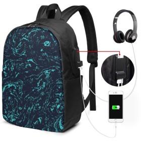 ファッションミニUsb充電ラップトップバックパック、女性/女の子/ビジネス向け軽量旅行防水学校バックパック(秋のカボチャクリームスープ)
