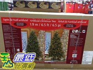 [COSCO代購] C1900237 6.5吋 PRELIT LED XMAS TREE 6.5吋LED聖誕樹 附無線遙控器