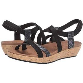 [スケッチャーズ] レディースサンダル・靴 Brie Desert Dance Black (24cm) M [並行輸入品]