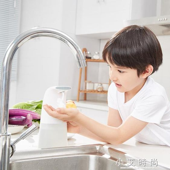 自動感應泡沫洗手機感應皂液器泡沫給皂器兒童洗手消毒