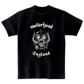 [10色]BANDLINE(バンドライン) Motorhead モーターヘッド バンド ロック パンク メタル 半袖Tシャツ ブラック Lサイズ
