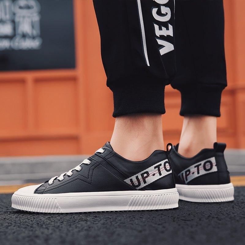 FINDSENSE品牌 秋款 新款 日本 男 高品質 簡約  真皮 百搭 舒適 小白鞋  休閒 運動板鞋 潮流鞋子
