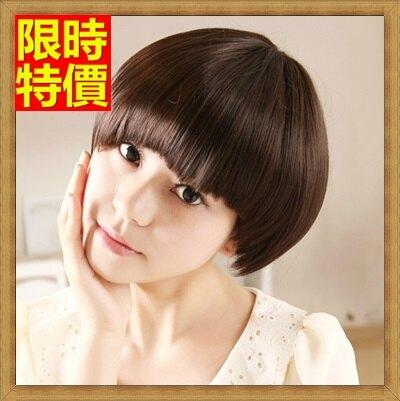 短假髮 整頂假髮-俏麗可愛蘑菇頭自然逼真女美髮用品3色66ag25【獨家進口】【米蘭精品】