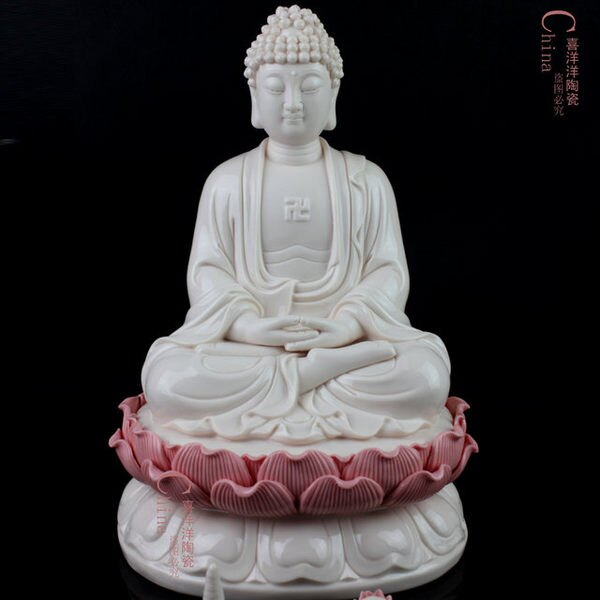 釋迦牟尼陶瓷佛像