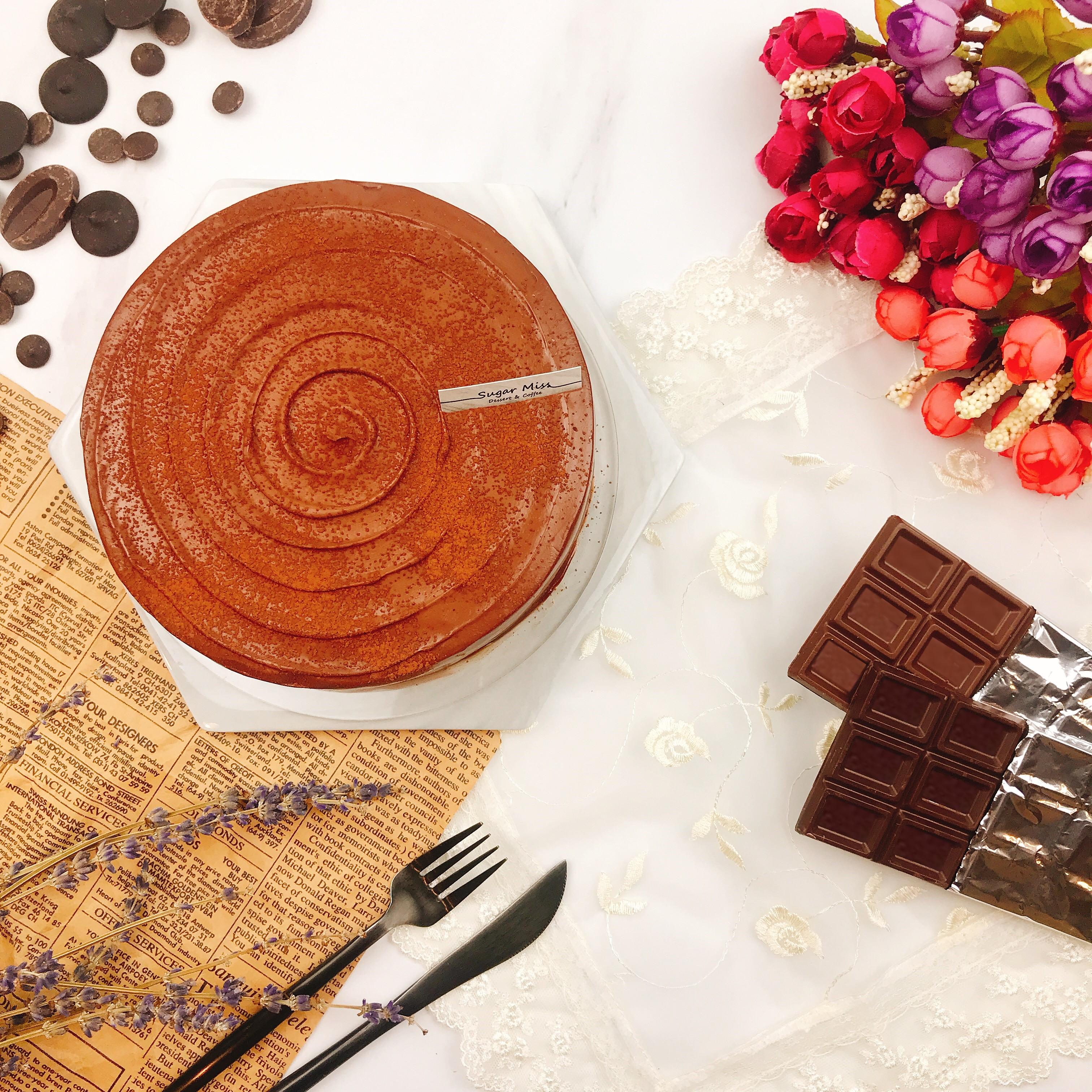 【Sugar miss】法芙娜巧克力千層蛋糕 6吋