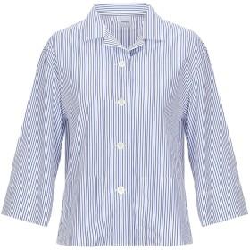 《セール開催中》ASPESI レディース シャツ ブルー 38 コットン 100%