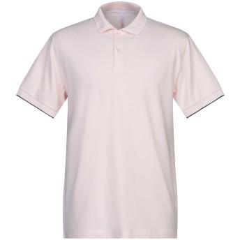《セール開催中》SUN 68 メンズ ポロシャツ ライトピンク M コットン 95% / ポリウレタン 5%
