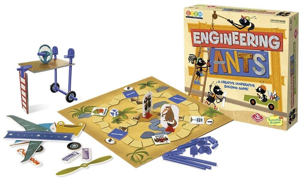 【含稅附發票】螞蟻工程師 Engineering Ants 中英雙語版正版益智桌遊 含稅附發票 實體店面