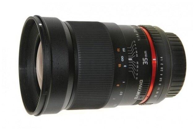 Samyang鏡頭專賣店35mm/F1.4 ASPH UMC 廣角  for Pentax PK (K10D K20D K200D K5)(保固二個月)