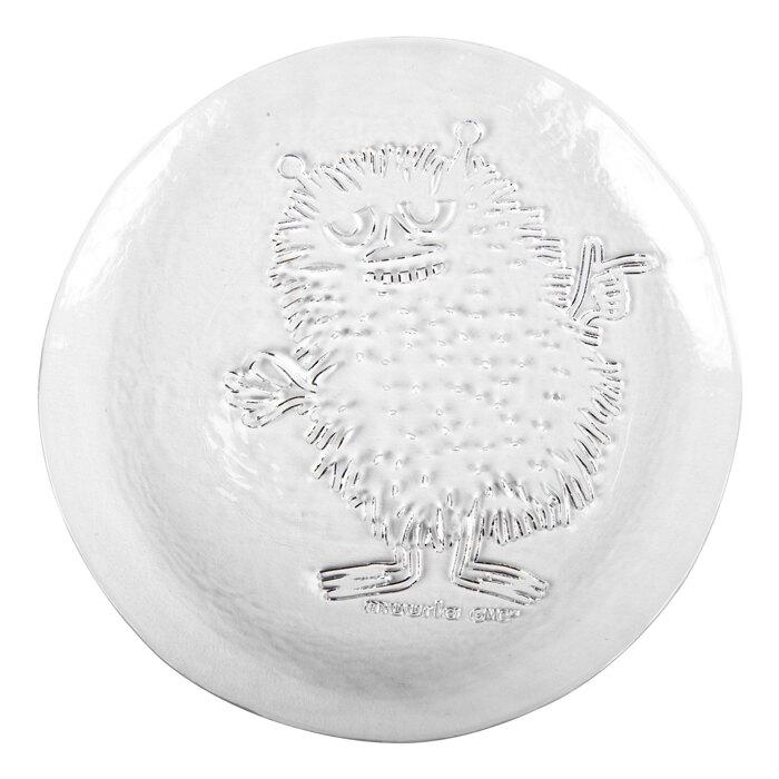 芬蘭Muurla 嚕嚕米系列-阿丁手工立體玻璃盤(19cm)