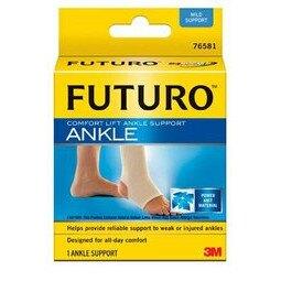 美國 3M FUTURO 運動護踝 舒適型 透氣舒適 羽毛球 馬拉松指定品牌 各項運動