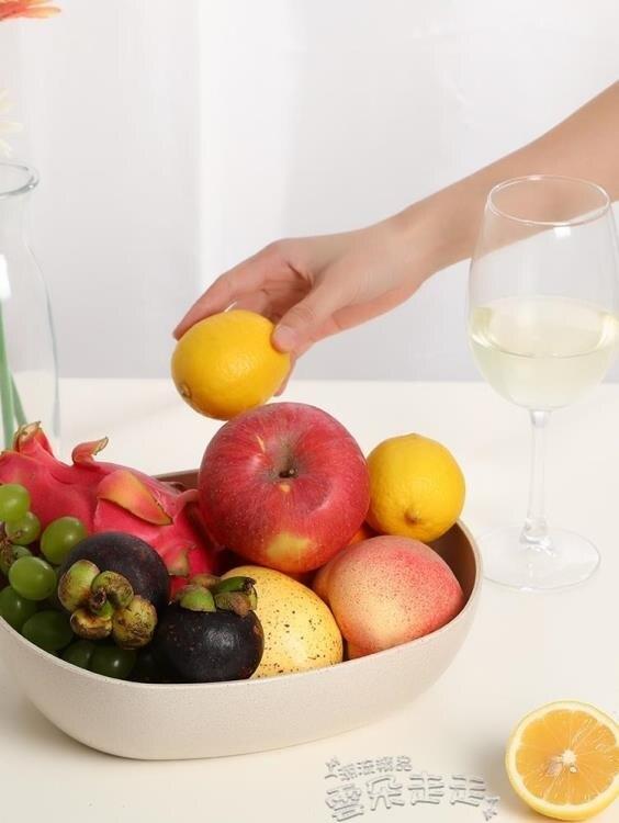 果盤歐式水果盤現代客廳創意茶幾零食糖果盤塑膠家用乾果盤