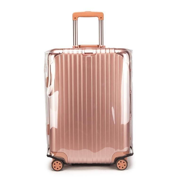 拉桿箱箱套透明防塵罩行李箱20旅行箱28耐磨26皮箱24寸箱子保護套  ATF 樂居家