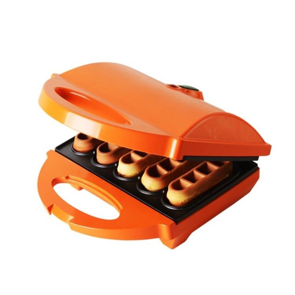 紅心蛋糕機家用華夫餅機電餅鐺鬆餅機懸浮雙面加熱早餐機 尾牙年會禮物