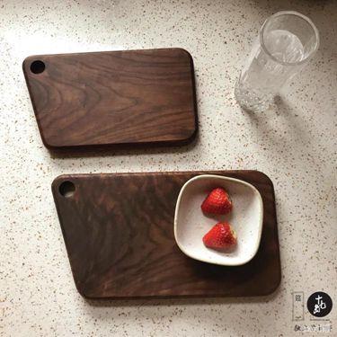 砧板黑胡桃木砧板面包板壽司板披薩板菜板案板托盤全實木 335  聖誕節禮物