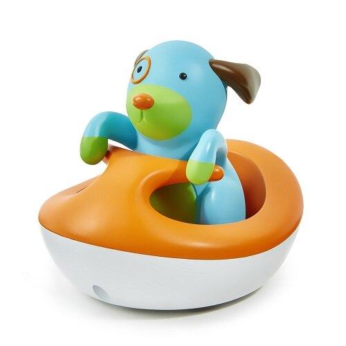 【紫貝殼】美國 Skip Hop 小狗快艇/洗澡戲水玩具
