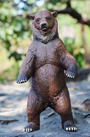 【協貿國際】野生動物模型玩具北美灰熊