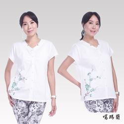 噶瑪蘭 手繪緹花衫CK7385-10A
