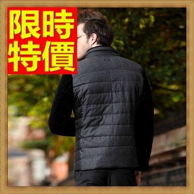 ☆輕羽絨外套 男羽絨衣-白鴨絨立領拼色時尚男夾克2色64l30【獨家進口】【米蘭精品】