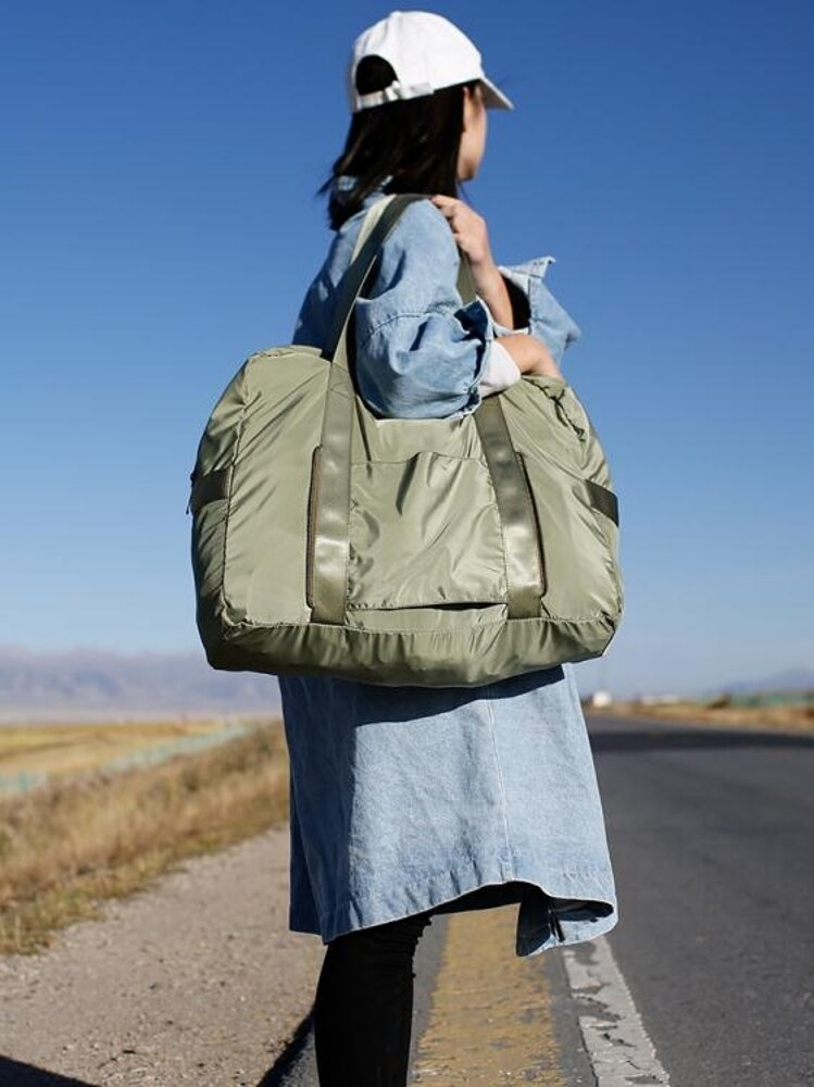 卡樂弗短途旅行包女手提大容量行李包便攜登機折疊旅 【限時特惠】 LX