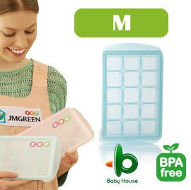 韓國製 JMGreen 新鮮凍RRE副食品冷凍儲存分裝盒 Mediu-中 (顏色隨機)【紫貝殼】