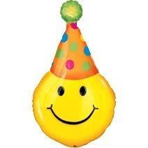 卡車微笑生日氣球