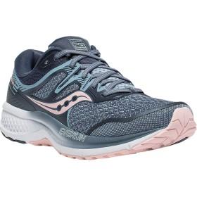 [サッカニー] シューズ スニーカー Omni ISO 2 Running Sneaker Grey/Pink レディース [並行輸入品]