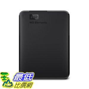[107美國直購] 外置硬碟 WD 2TB Elements Portable External Hard Drive - USB 3.0 - WDBU6Y0020BBK-WESN