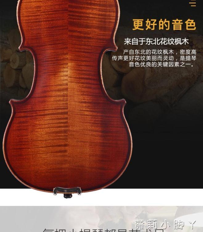 STENNA小提琴初學者考級手工實木成人兒童學生演奏初學入門小堤琴