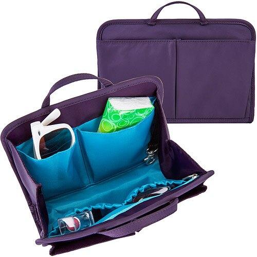 《TRAVELON》RFID包內安全收納包(紫M)