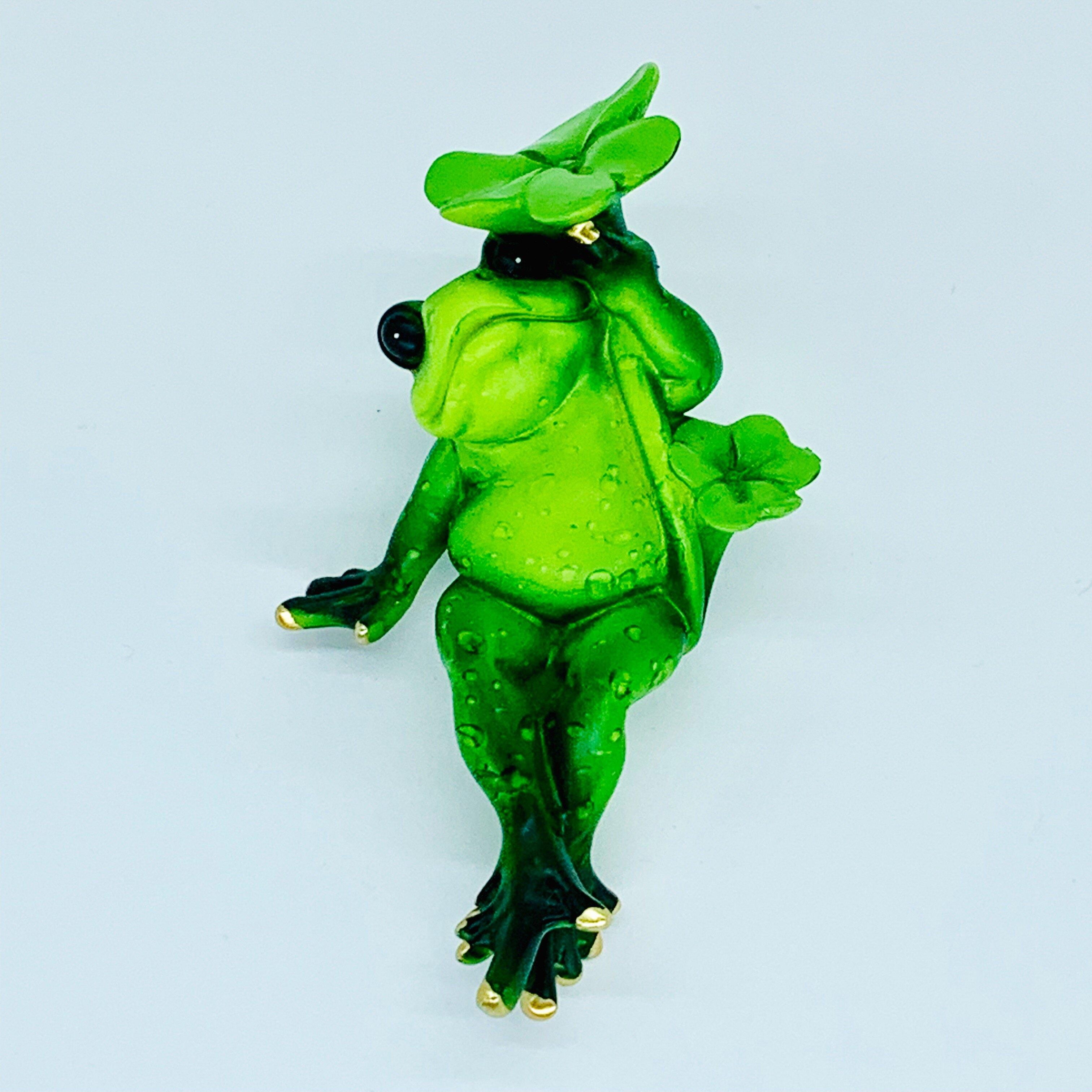日本高山 悠閒 青蛙 擺飾 2 日本直送 幸運 平安 開運