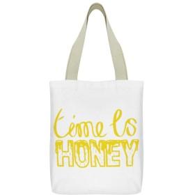 キャンバス トートバッグ Canvas Tote Bag レディース 女の子用 エコバッグ リュックサック ショルダーバッグ 帆布生地 シンプル 肩がけ カジュアル 収納 大容量 通勤 通学 超軽量 縦型 人気 プリント Canvas Tote Bag Double 時間 蜂蜜 養蜂家