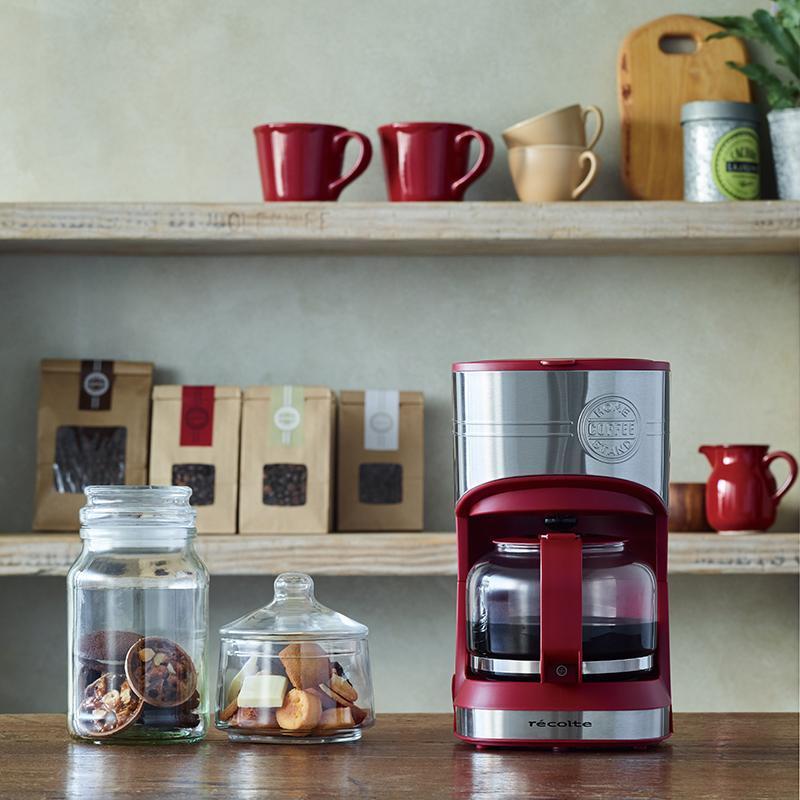 Home Coffee Stand 經典咖啡機 簡約白