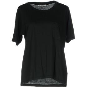 《セール開催中》BARENA レディース T シャツ ブラック L コットン 100%
