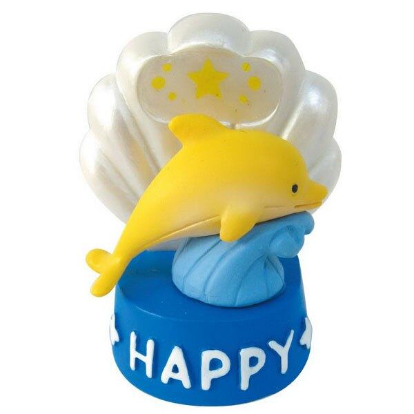 【日本發掘名人】Happy海豚&背殼鏡(共4色)(黃)