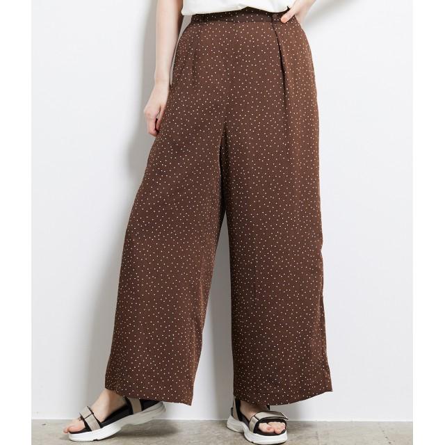パンツ・ズボン全般 - ROPE' PICNIC ヴィンテージドットワイドパンツ