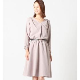 【ミューズ リファインド クローズ/MEW'S REFINED CLOTHES】 チェーンベルト付ワンピース