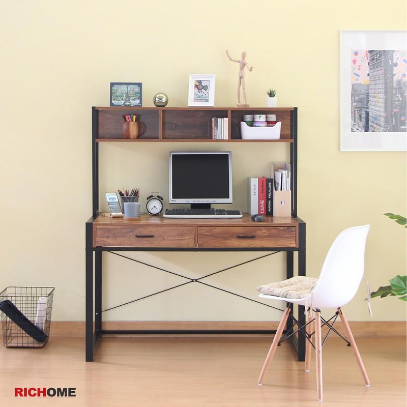 RICHOME DE261 威廉雙抽大書桌 電腦桌 工作桌 辦公桌 寫字桌 筆電桌