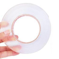寬3cm 超厚魔術奈米萬用透明防水雙面膠帶(2捲)