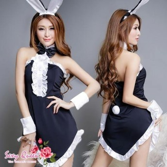 ハロウィン コスプレ 衣装 レディース バニーガール コスチューム かわいい セクシー cos982067