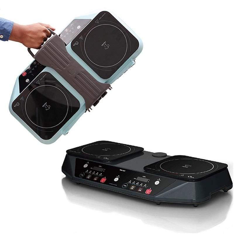 雙爐Performa Duo IH可提攜式智慧電磁爐(雙邊獨立控溫料理平台)  - 共4色 星光灰