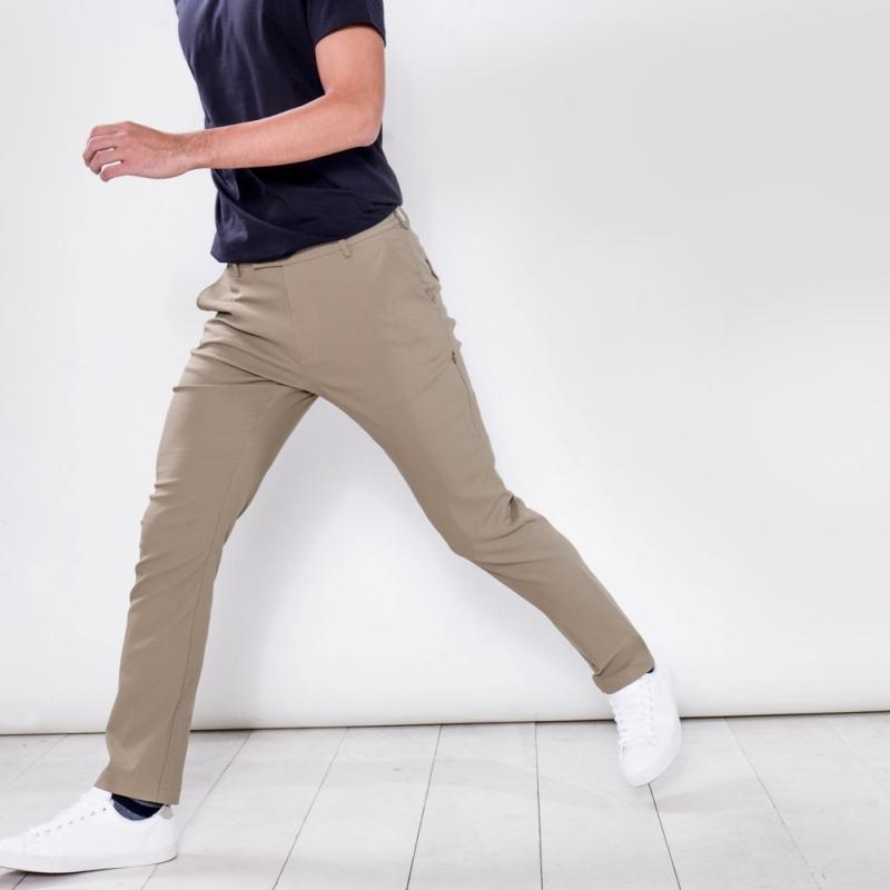 曼哈頓八口袋商旅紳士褲 莫蘭迪卡其 尺碼 36