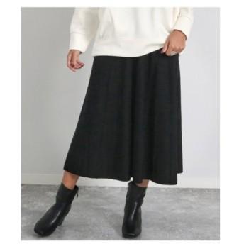 ANAP(アナップ)ピンストライプフレアーニットスカート